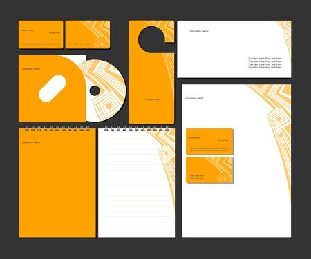 Foto de Business style_vector corporate identity template   - Imagen libre de derechos