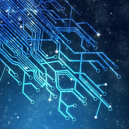 Photo pour circuit board ,technology background - image libre de droit