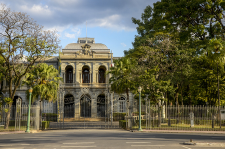 BELO HORIZONTE .Palace of Liberty, which was building for several years the office of the government of Minas Gerais state in the city of Belo Horizonte.