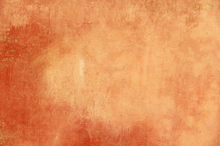 Foto de Empty Terracotta and Orange Background for Design and Design Color Terracotta. Background from Plaster, For Design, Decoration and Templates. - Imagen libre de derechos