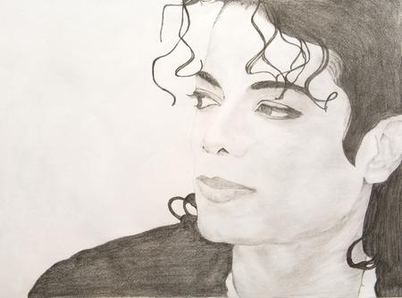 Michael Jackson Pencil Sketch