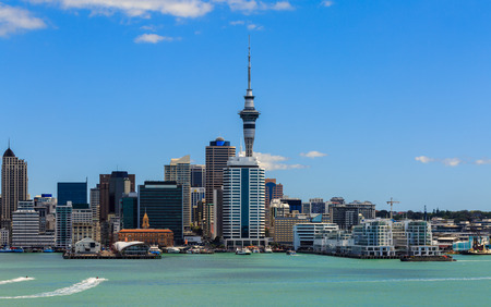 Auckland cityscape, North Island, New Zealand