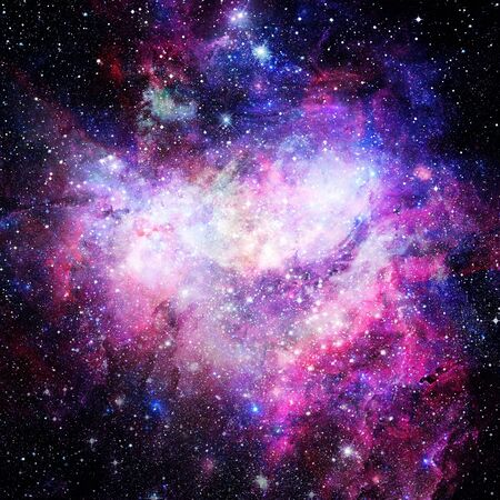 Photo for Nebula and galaxies in space. Elements of this image furnished by NASA. - Royalty Free Image