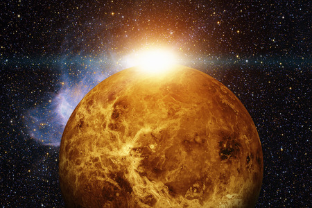 Photo for Solar System - Venus. Elements of this image furnished by NASA. - Royalty Free Image