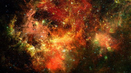 Photo for Nebula and stars in deep space. Galaxy star. - Royalty Free Image