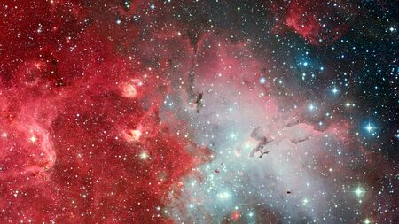 Photo for Infinite space background with nebulas and stars. - Royalty Free Image