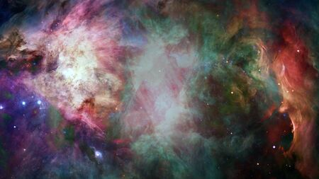 Photo for High definition star field, night sky space. Nebula and galaxies in space - Royalty Free Image