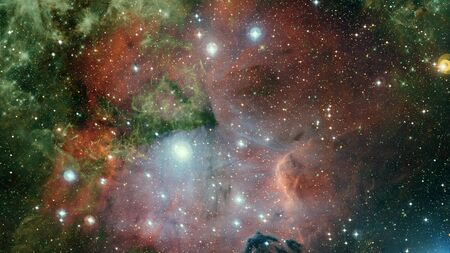 Photo for Pleiades in a dark night sky. - Royalty Free Image