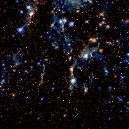 Photo for Galaxy space cluster background. - Royalty Free Image