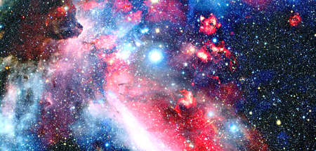 Photo for Galaxy cluster in deep space. - Royalty Free Image