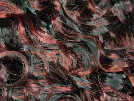 curly highlight hair texture abstract background
