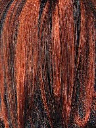 dark hair texture absstact background