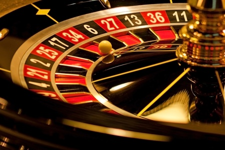 Roulette with  winning number.