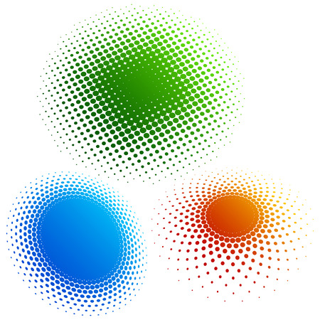 Halftone - color rings 3