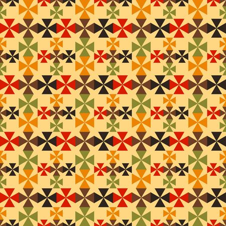 Gothic seamless pattern with cross. Repeating background texture