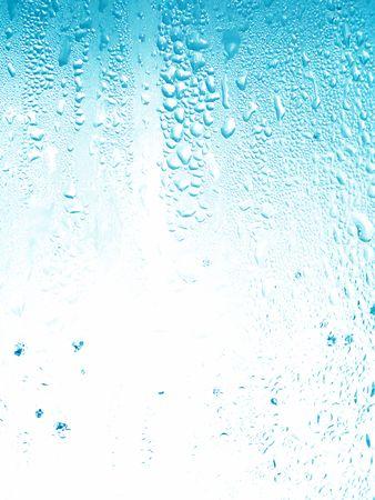 Light blue little water drops background