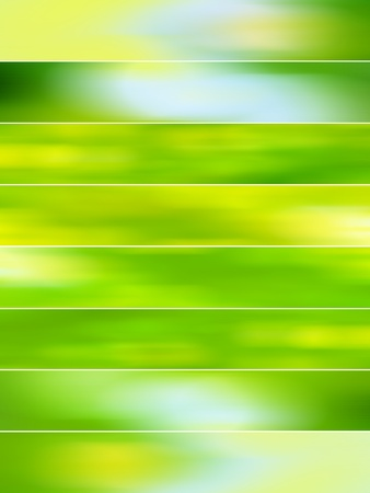 Light green blurred backgrounds with movement for animations