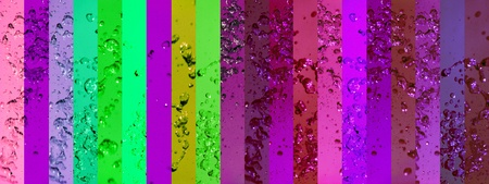Intense, background, backgrounds, contrast, banners, drops, splash, green, violet