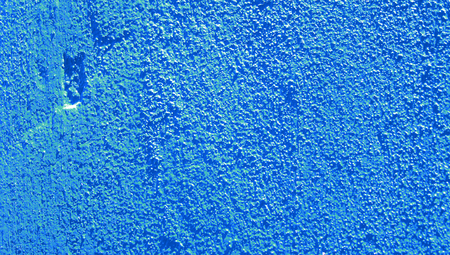 Vibrant blue wall texture abstract background
