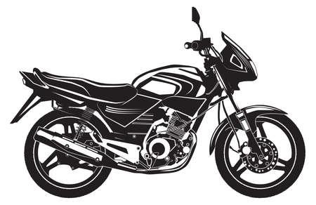 Illustration pour lack sports bike, motorcycle. Vector illustration. - image libre de droit