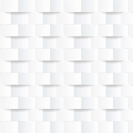 Illustration for White geometric modern background. Texture for cover design, website background, advertising. Vector illustration. - Royalty Free Image