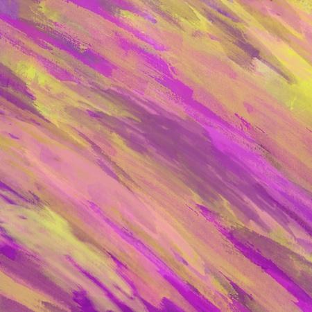 colored gouache brushstrokes
