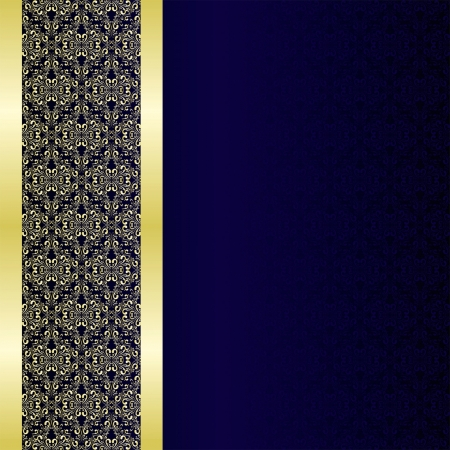Luxury Background decorated a golden border