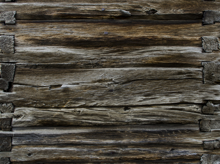 Vintage aged dark brown wooden background texture close up. texture of a wooden board of solid wood.