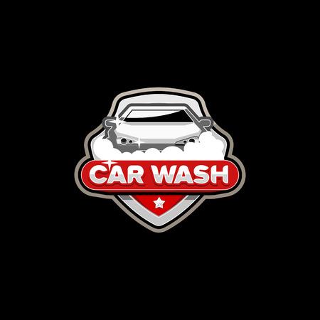 Car Wash Logo Template Vector Royalty Free Vector Graphics