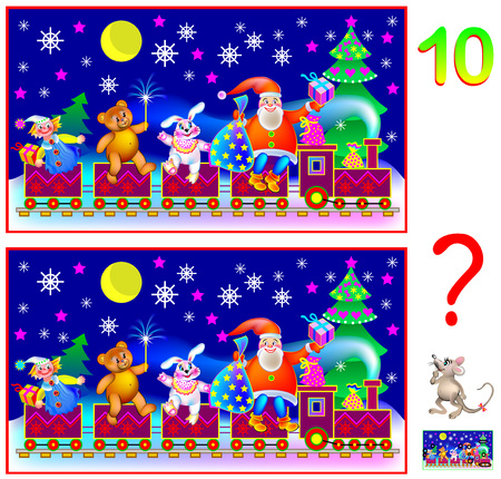 Logic puzzle game for young children