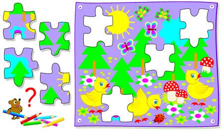 missing puzzle piece logic