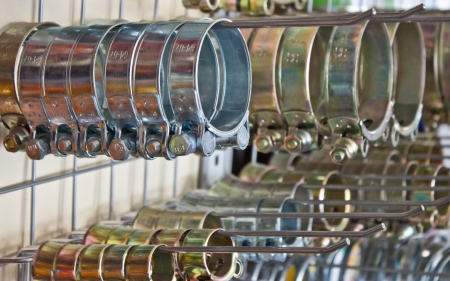 Metal hose clips  Clamp rings