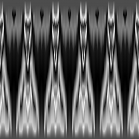 Black and white tie dye geometric ethnic seamless pattern, vector