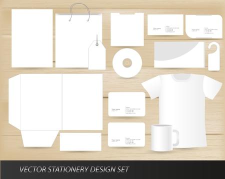 Foto de Vector stationery design set template - Imagen libre de derechos