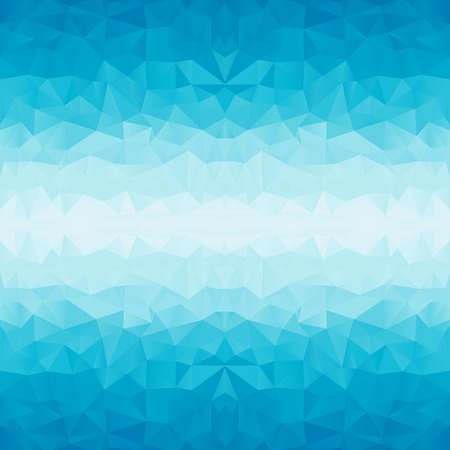 polygonal blue backgroundのイラスト素材