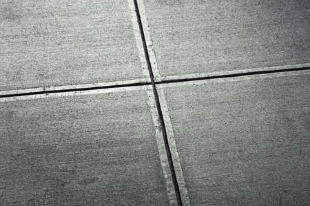 build lines in sidewalk from above