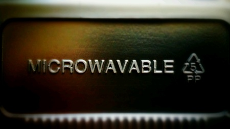 Microwavable sign