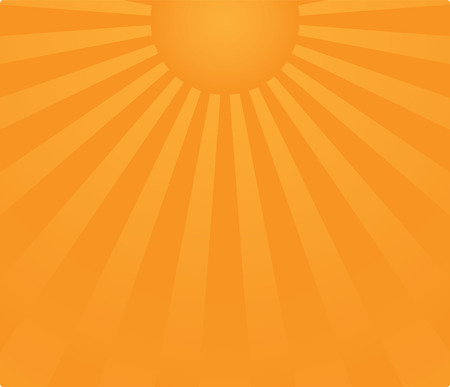 sunrise background in vector