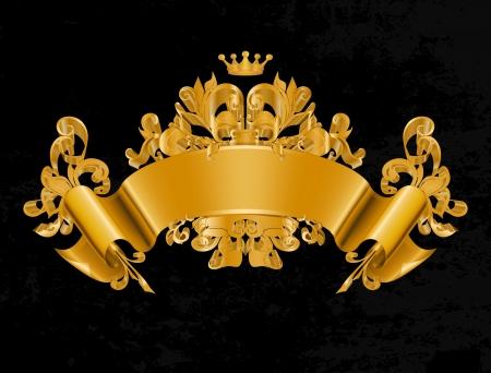 Illustration for Vintage Emblem, Vector - Royalty Free Image