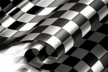 Illustration pour Checkered Background horizontal - image libre de droit