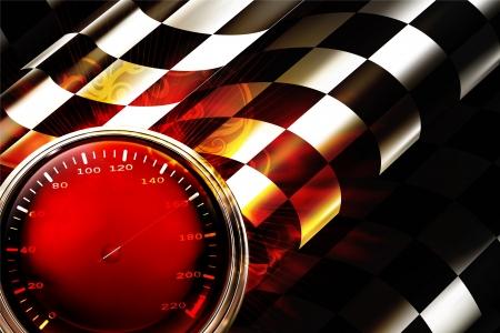 Illustration pour Racing Background Horizontal - image libre de droit