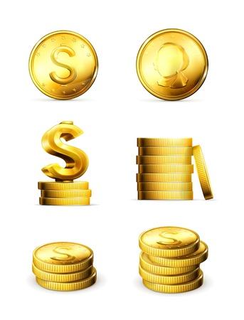 Gold Coins, set