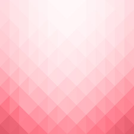 Illustration for Abstract geometric pattern. Pink triangles background. Vector illustration eps 10 - Royalty Free Image
