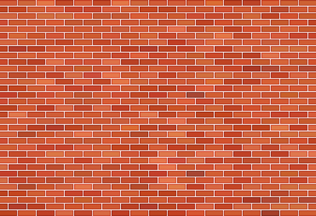 Illustration for Brown brick wall background - Royalty Free Image
