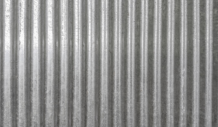 Photo for Corrugated metal texture surface background - Royalty Free Image