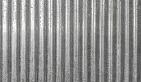 Photo pour Corrugated metal texture surface background - image libre de droit