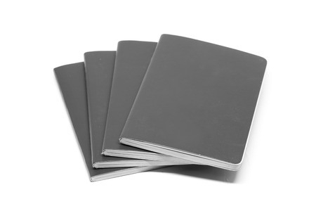 Gray Leather notebooks