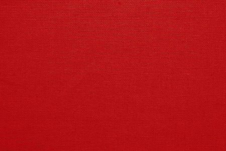 Photo for Red cotton fabric texture background, seamless pattern of natural textile. - Royalty Free Image