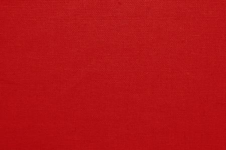 Foto de Red cotton fabric texture background, seamless pattern of natural textile. - Imagen libre de derechos