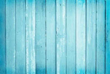 Photo pour Vintage painted wooden wall background, texture of blue pastel color with natural patterns for design art work. - image libre de droit
